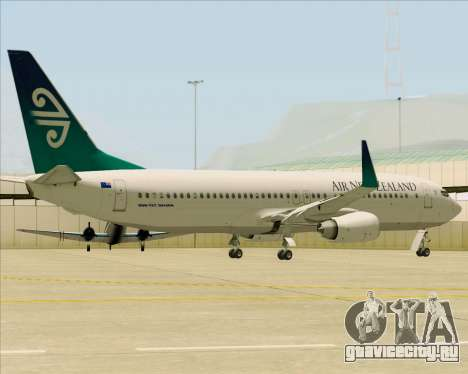 Boeing 737-800 Air New Zealand для GTA San Andreas вид сбоку