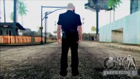 Офицер Карвер из Cutscene для GTA San Andreas второй скриншот