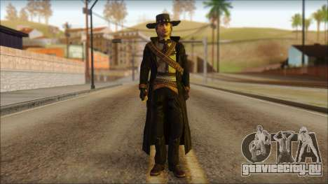 Ray McCall Gunslinger для GTA San Andreas