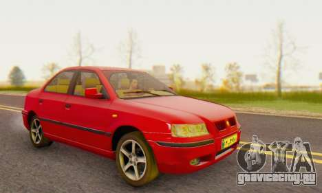 Iran Khodro Samand LX (IVF) для GTA San Andreas