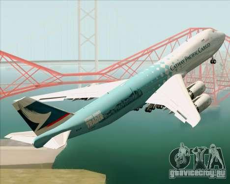 Boeing 747-8 Cargo Cathay Pacific Cargo для GTA San Andreas