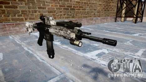 Автоматический карабин Colt M4A1 ghotex для GTA 4