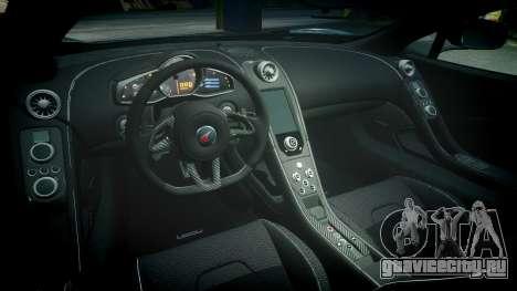 McLaren 650S Spider 2014 [EPM] Continental для GTA 4 вид изнутри