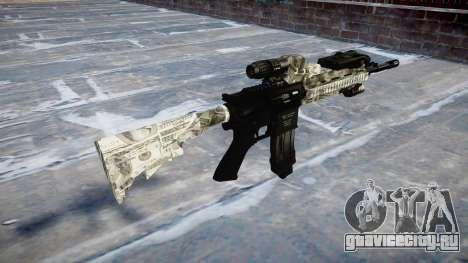 Автоматический карабин Colt M4A1 benjamins для GTA 4 второй скриншот