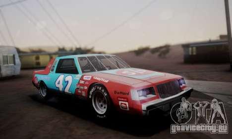 Buick Regal 1983 для GTA San Andreas салон