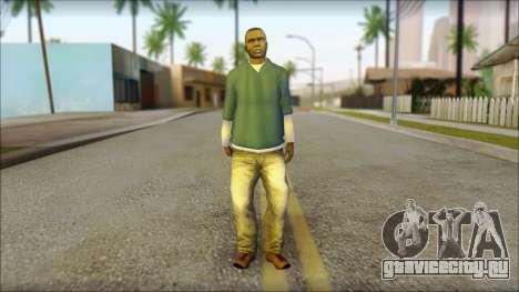 Franklin from GTA 5 для GTA San Andreas