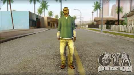 Franklin from GTA 5 для GTA San Andreas