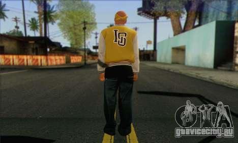 Vagos from GTA 5 Skin 3 для GTA San Andreas второй скриншот