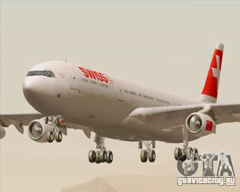 Airbus A340-313 Swiss International Airlines для GTA San Andreas