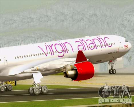 Airbus A330-300 Virgin Atlantic Airways для GTA San Andreas двигатель