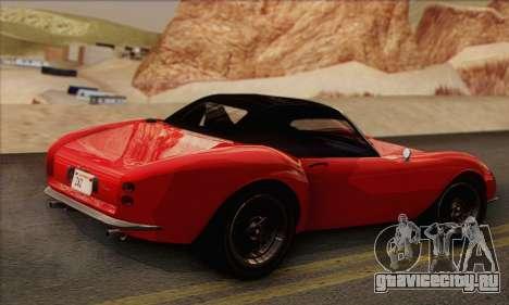 Grotti Stinger 1.0 (IVF) для GTA San Andreas вид слева