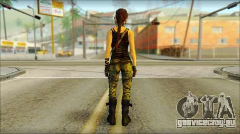 Tomb Raider Skin 4 2013 для GTA San Andreas второй скриншот