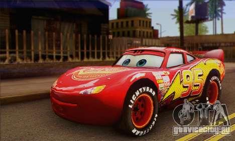 Lightning McQueen для GTA San Andreas