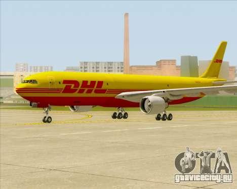 Airbus A330-300P2F DHL для GTA San Andreas вид слева