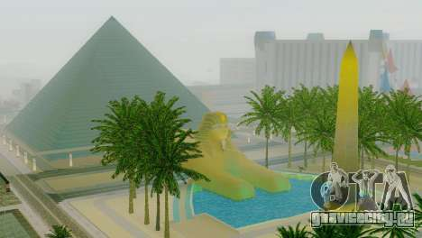 Новые текстуры пирамиды в Лас-Вентурасе для GTA San Andreas