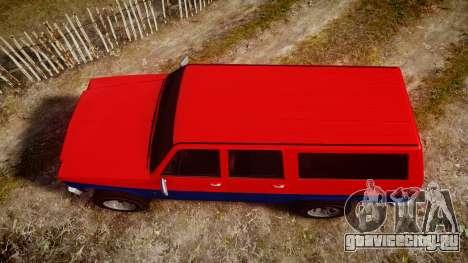GTA V Declasse Rancher XL для GTA 4 вид справа