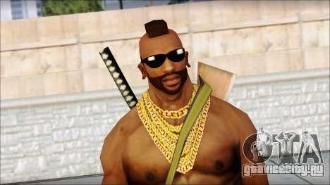 MR T Skin v9 для GTA San Andreas третий скриншот