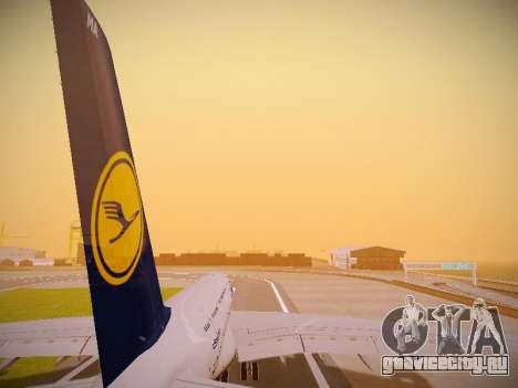 Airbus A380-800 Lufthansa для GTA San Andreas