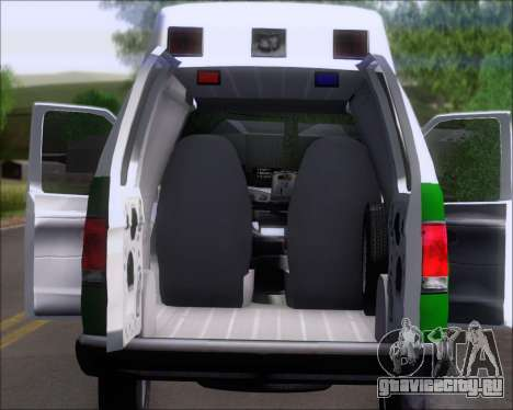Ford E-150 Labocar для GTA San Andreas вид сзади