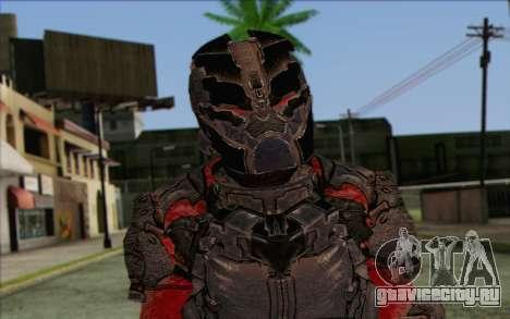 John Carver from Dead Space 3 для GTA San Andreas третий скриншот
