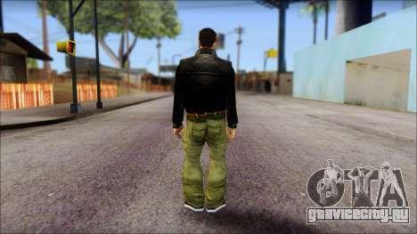 GTA 3 Claude Ped для GTA San Andreas второй скриншот
