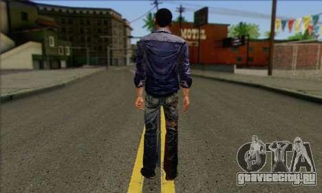 Lee from Walking Dead для GTA San Andreas второй скриншот