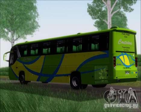 Comil Campione 3.45 Scania K420 Costenos для GTA San Andreas вид сзади слева