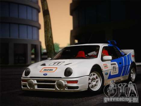 Ford RS200 Evolution 1985 для GTA San Andreas вид слева