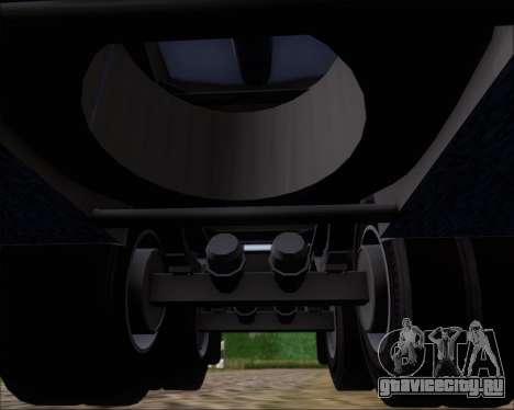 Прицеп цистерна Carro Copec для GTA San Andreas вид снизу
