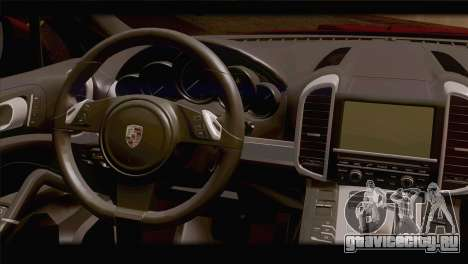 Porsche Cayenne для GTA San Andreas вид сзади слева