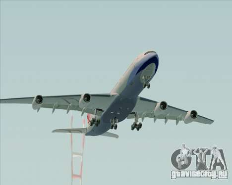 Airbus A340-313 China Airlines для GTA San Andreas вид сбоку