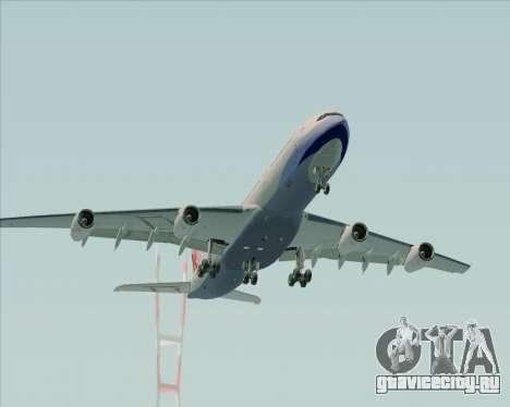 Airbus A340-313 China Airlines для GTA San Andreas вид сбоку