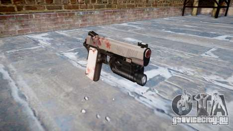 Пистолет Kimber 1911 Cherry blossom для GTA 4