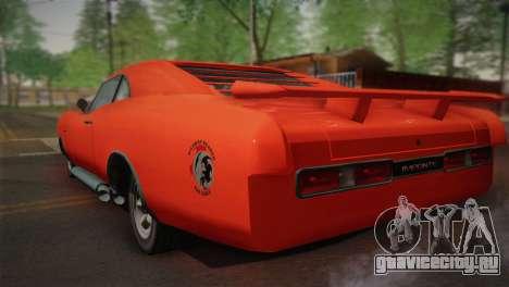 GTA 4 Dukes Tunable для GTA San Andreas вид сбоку