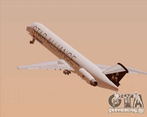 McDonnell Douglas MD-82 Spanair для GTA San Andreas двигатель