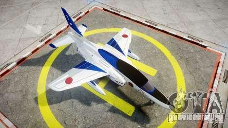 Kawasaki T-4 для GTA 4 вид справа