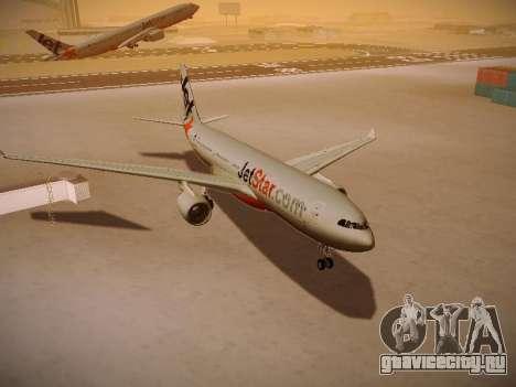 Airbus A330-200 Jetstar Airways для GTA San Andreas вид сбоку