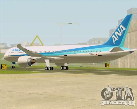 Boeing 787-9 All Nippon Airways для GTA San Andreas вид справа