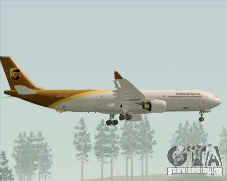 Airbus A330-300P2F UPS Airlines для GTA San Andreas колёса