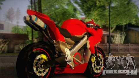 Yamaha New V-Ixion Lightning Concept Variasi для GTA San Andreas вид слева