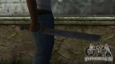 Machete from Assassins Creed 4: Freedom Cry для GTA San Andreas третий скриншот