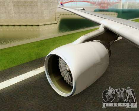Airbus A330-323 Malaysia Airlines для GTA San Andreas двигатель