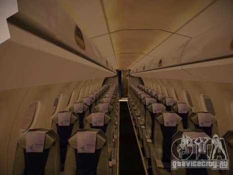 Embraer E190 Azul Tudo Azul для GTA San Andreas вид сзади