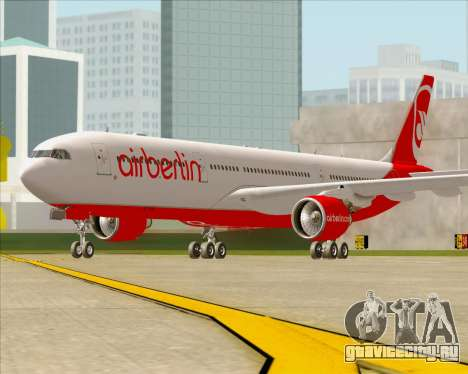 Airbus A330-300 Air Berlin для GTA San Andreas вид слева