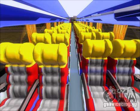 Marcopolo Victory Liner 7001 для GTA San Andreas вид сбоку