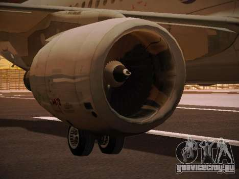 Airbus A320-214 LAN Oneworld для GTA San Andreas колёса