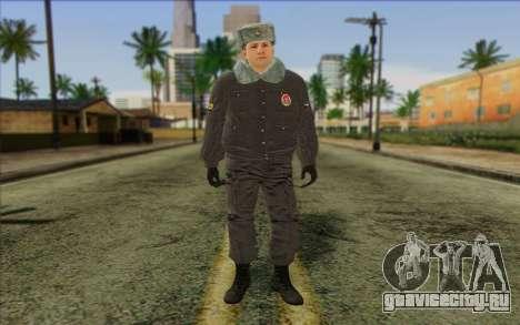 Полиция России Скин 4 для GTA San Andreas