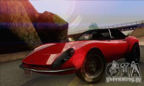 Grotti Stinger 1.0 (IVF) для GTA San Andreas