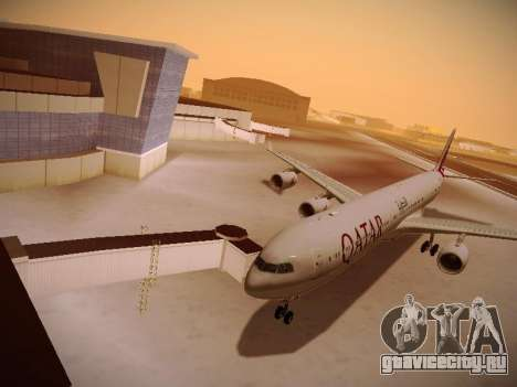 Airbus A340-600 Qatar Airways для GTA San Andreas
