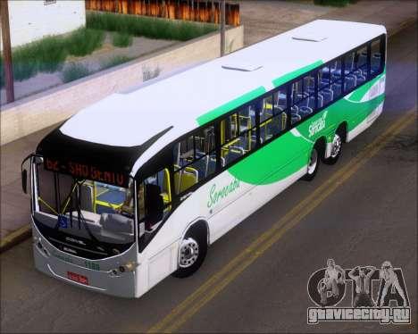 Comil Svelto BRT Scania K310IB 6x2 Sorocaba для GTA San Andreas вид изнутри